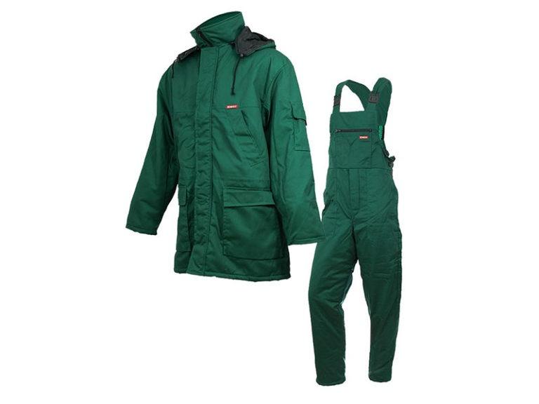 Ubranie robocze ocieplane zielona
