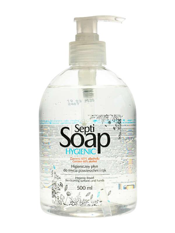 Higieniczny płyn do dezynfekcji rąk