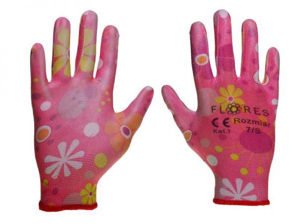 rękawice ogrodnicze flores