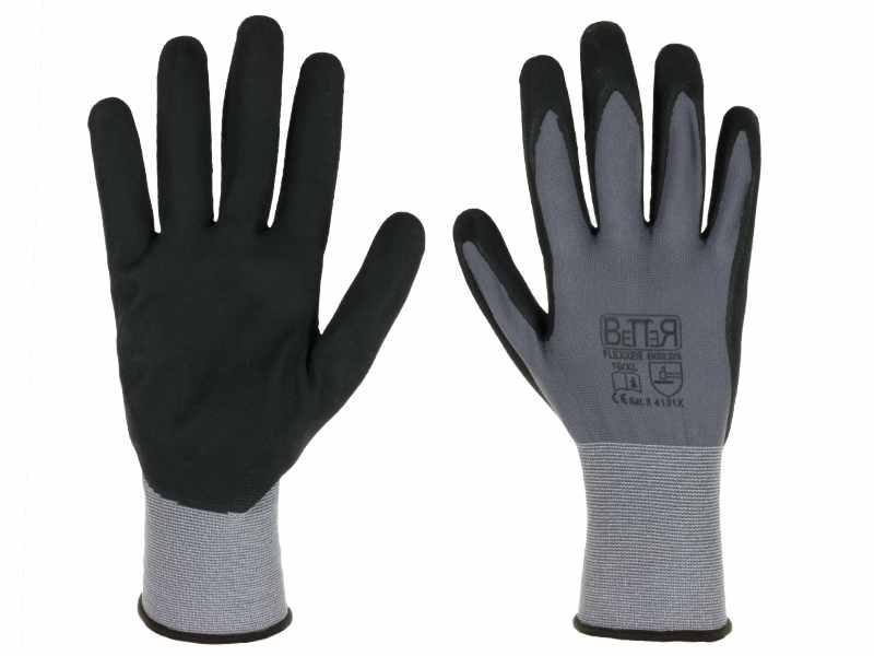 rękawice flexxer z dzininy poliamidowej ze spandexem 15g
