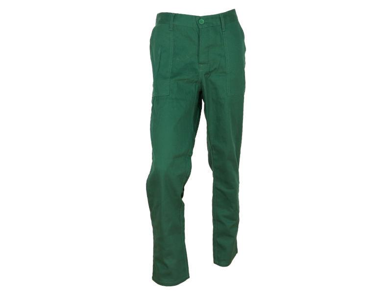 spodnie do pasa zielone best-on
