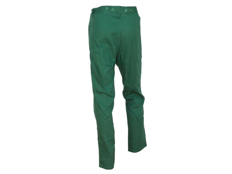 spodnie do pasa zielone best -on