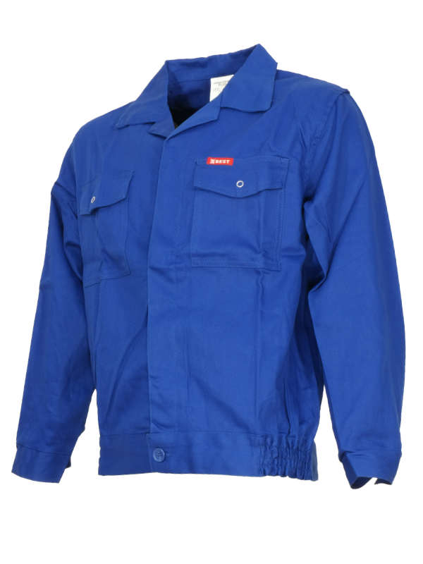 Bluza robocza BEST-ON ( kolor niebieski ) 100% Bawełna 1