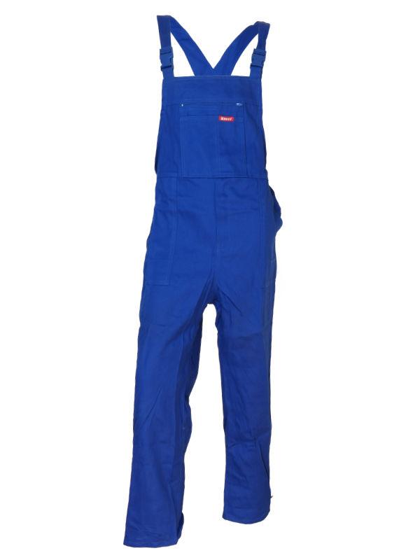 Spodnie ogrodniczki BEST-ON niebieskie 100% Bawełna 1