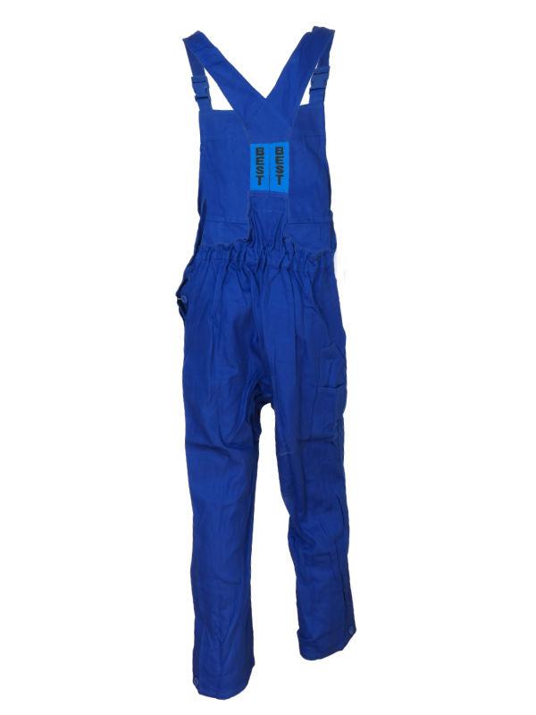 Spodnie ogrodniczki BEST-ON niebieskie 100% Bawełna 2