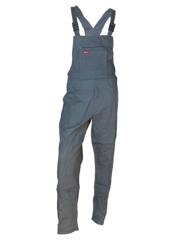 Spodnie ogrodniczki BEST-ON szare 100% Bawełna 1