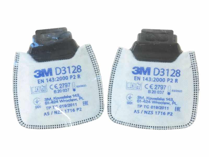 Filtr p.pyłowy P2 R D3128 3M 1